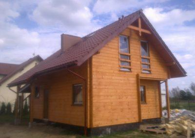 Dom w okolicach Kostrzyna nad Odrą