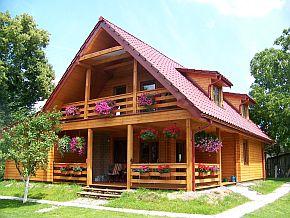 chaty z drewna