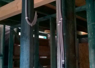 technologia budowy domu drewnianego